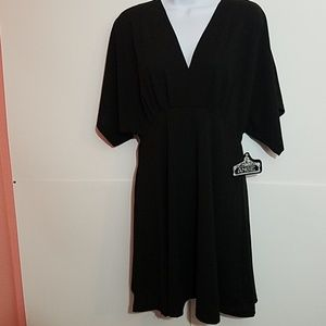 ANGIE Little Black Dress size Large  NWT